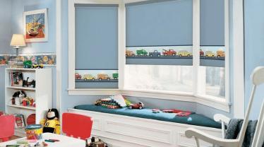 Поради по вибору вікна в дитячу кімнату